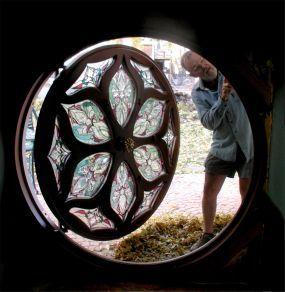 hobbit door plans | The Making of a Hobbit-House Door
