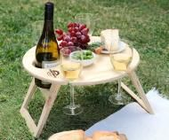 Round Picnic Table - Folding