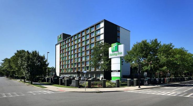 Holiday Inn Boston-Bunker Hill Somerville Located just off I-93 and 2 miles from downtown Cambridge, this Holiday Inn features a beautiful indoor pool facility. Free Wi-Fi and an on-site restaurant are available. The shops at Assembly Row are 5 minutes' drive.