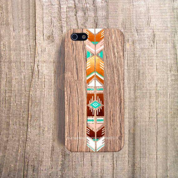 Boho iPhone Case iPhone Case Wood Print Stylish par casesbycsera, $19.99