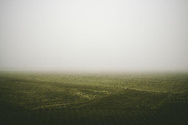 Foggy Autumn Morning Print by Cesare Bargiggia