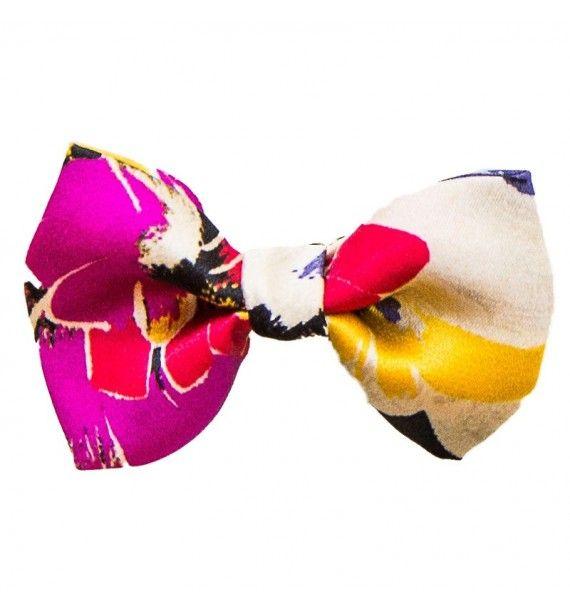 Fundita de par cu imprimeu colorat-Tie-Me-Up