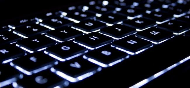 How to Turn On or Off and Manage the Backlit Keyboard