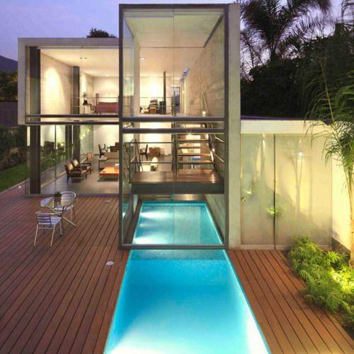 ..: Indooroutdoor, Lap Pools, Glasshous, Swim Pools, Indoor Outdoor Pools, Dreams House, Doblado Arquitecto, Architecture, Glasses House