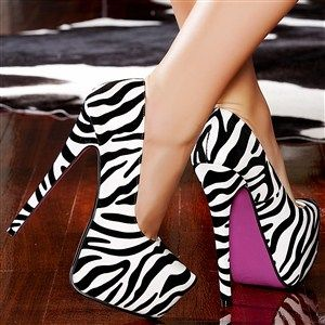 Zebra Heels...OMG!!!!!