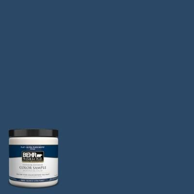 BEHR Premium Plus 8 oz. #580D-7 Deep Royal Interior/Exterior Paint Sample-580D-7PP at The Home Depot