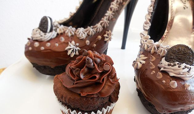Designer Chris Campbell combines love of shoes and sweets with this fun new line (16 pictures)
