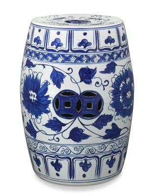 Classic Blue u0026 White Ceramic Garden Seat //.palmbeachregency.com  sc 1 st  Pinterest & Best 25+ Ceramic garden stools ideas on Pinterest | Garden stools ... islam-shia.org