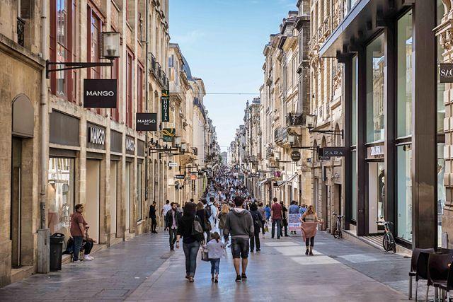 Bordeaux - La rue Sainte-Catherine