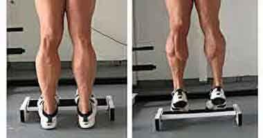 exercice pour muscler les #mollets