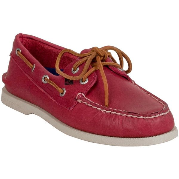 Sperry Men's 2-Eye Sarape Boat Shoes Boat Shoe Loafer ($100) ❤ liked on Polyvore featuring men's fashion, men's shoes, men's loafers, red, sperry mens shoes, mens deck shoes, mens loafers boat shoes, mens boat shoes and mens loafers