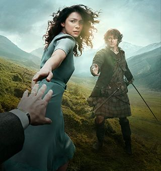 STARZ - Outlander - A STARZ Original Series. My favorite book ever is now going to be a tv show. Could not be more excited!!!
