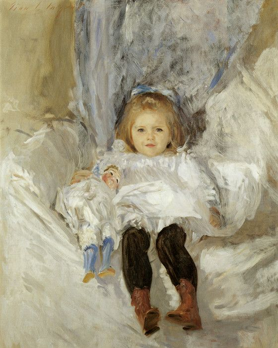 Ruth Sears Bacon 1887 by John Singer Sargent | Art Posters