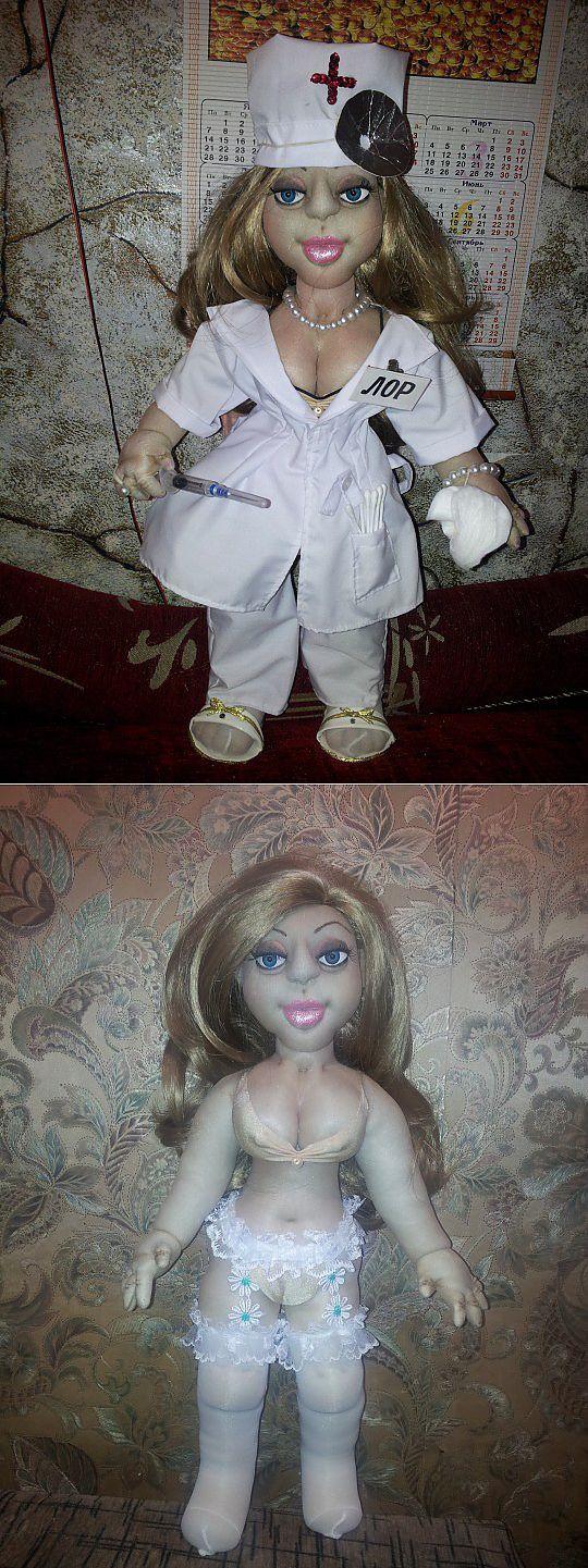 Bambola medico (macchine calzetteria) MK Yana Naumova.