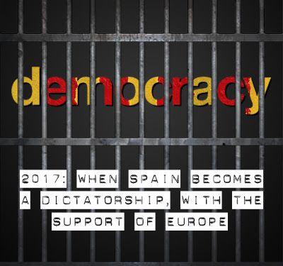 Oriol Bargalló: No a la dictadura espanyola!
