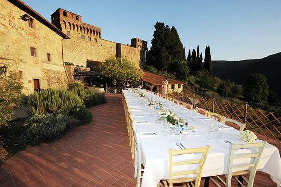 Hochzeit Bauernhaus Toskana - ©Con Amore / Romantische bruiloft bij een wijnkasteel in Toscane. / Romantic wedding at a wine castle in the Chianti. www.conamore.it