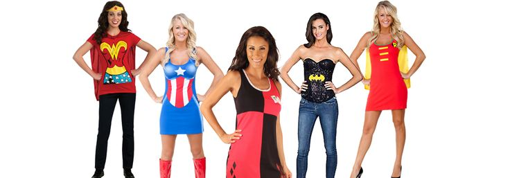 Ideas for cheap Halloween costumes for women. We walk you through cheap costumes of your favorite Women's Superheroes. Come see these cheap costume ideas.