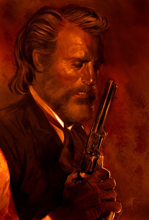 Dr. King Shultz from Django Unchained - Massimo Carnevale