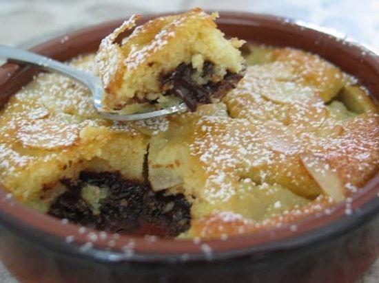 Recette Amandines poire-chocolat : la recette facile
