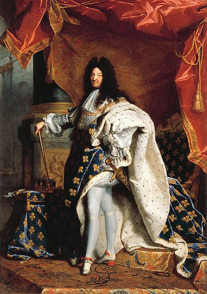 Louis XIV (5 September 1638 – 1 September 1715), known as Louis the Great (Louis le Grand) or the Sun King (le Roi-Soleil), was a monarch of the House of Bourbon who ruled as King of France and Navarre from 1643 until his death.[1] His reign of 72 years and 110 days is the longest of monarchs of major countries in European history.[2]
