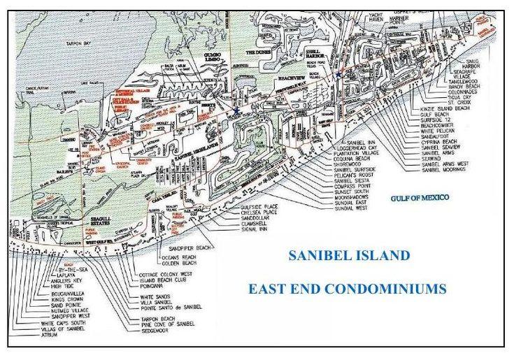 Sanibel Island Map: 1000+ Images About Sanibel-Captiva On Pinterest