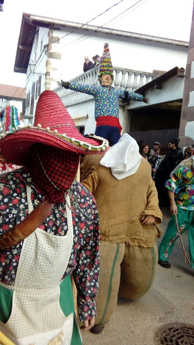 Carnaval de lanz, navarra