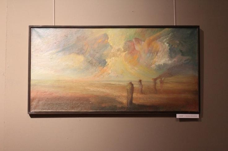 40 cm x 80 cm obraz olejny by Leszek   Gesiorski