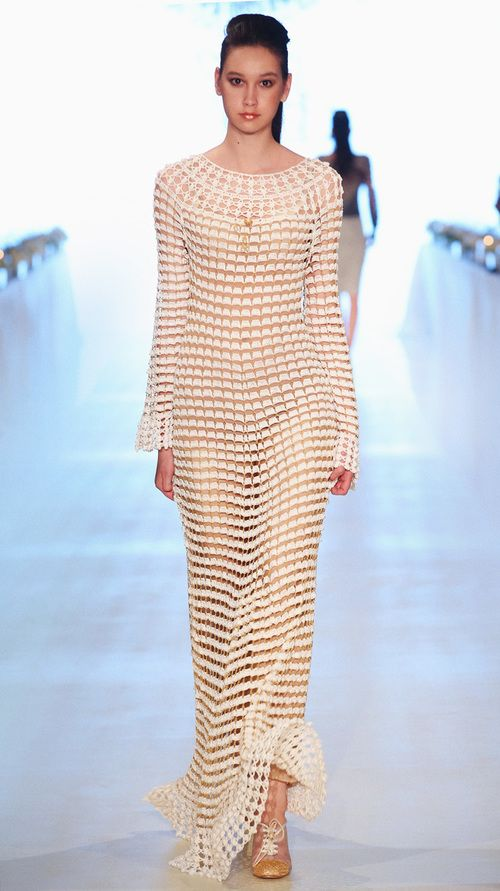 Helen Rödel crochet dress