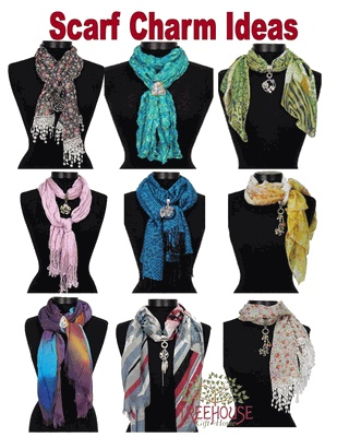 24 best scarf pendant jewelry images on pinterest retail retail scarf charm ideas aloadofball Images