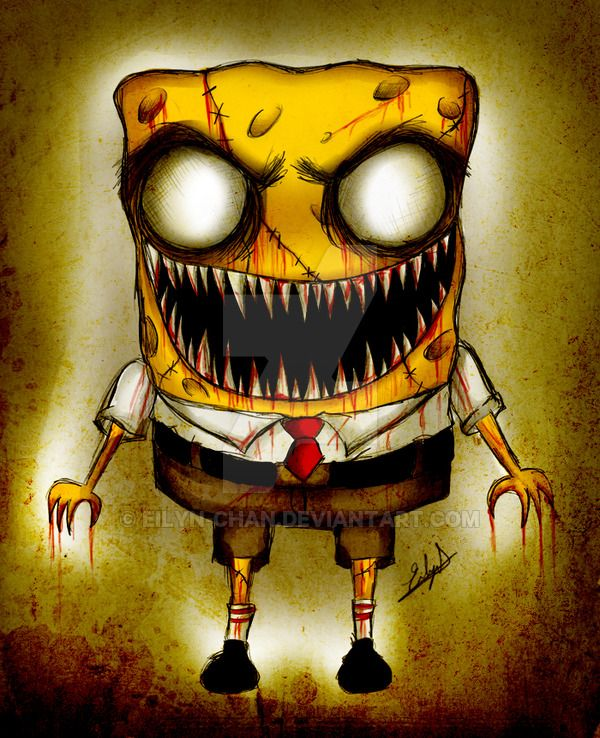Zombie Spongebob By Eilyn Chan On Deviantart