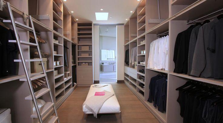 The closet is huge.  (McClean Design)
