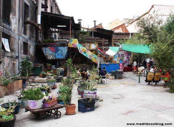 MADRID COOL BLOG: LA TABACALERA espacio autogestionado en madrid