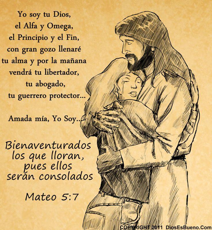 Primeramente, para gloria de su nombre y porque no te dejará desamparada, nunca, nunca, nunca. Estas palabras Él te las habla quitando así las lágrimas que salen de tu corazón: