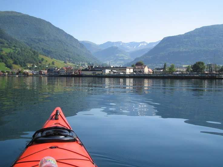 Vik at a beautiful day, the Sognefjord completely flat and I had a wonderful trip with my kayak