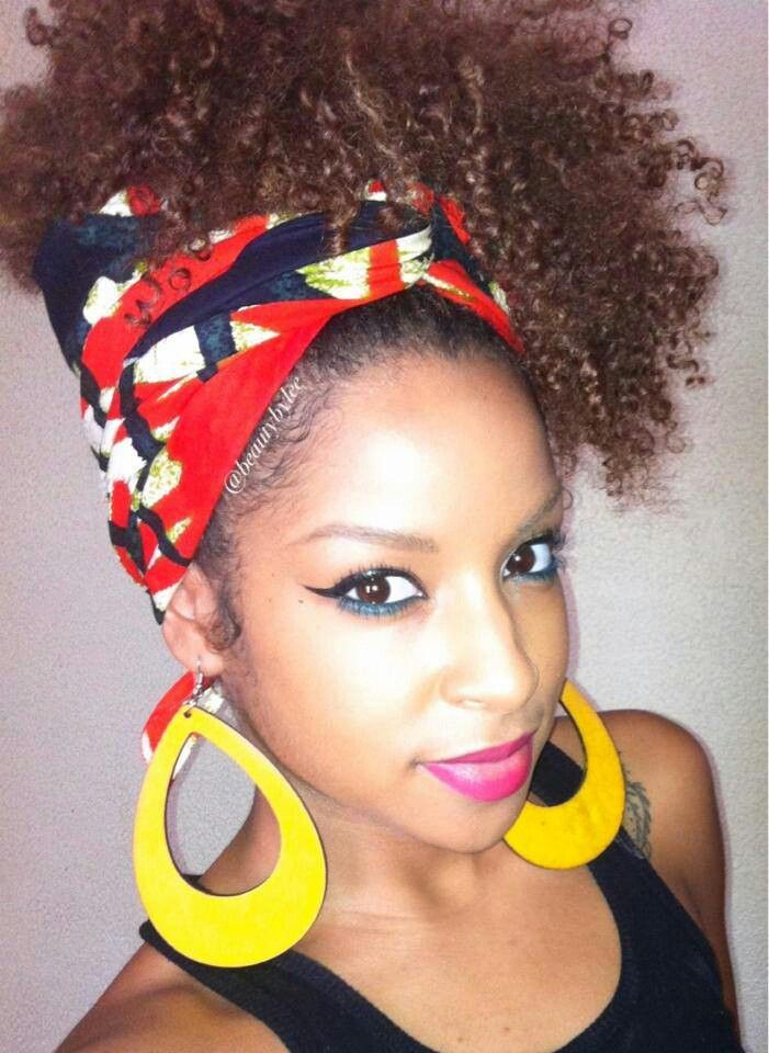 How To Wear A Bandana Or Scarf With Natural Hair