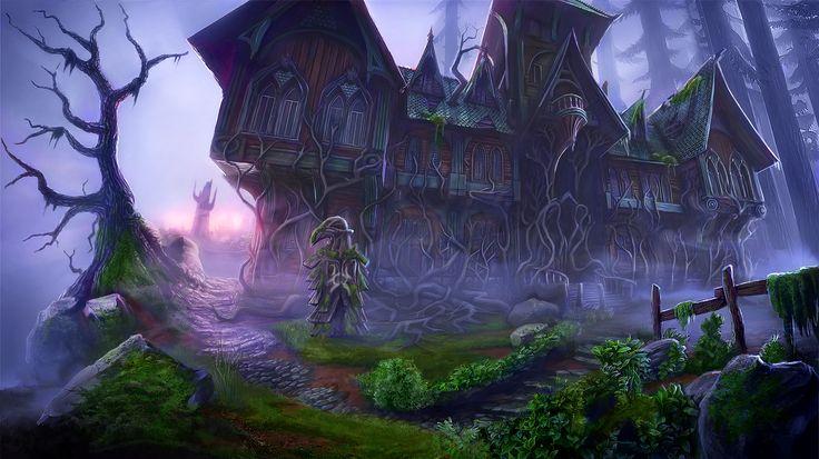 Enigmatis: The Mists of Ravenwood - Dark Entrance www.artifexmundi.com/page/enigmatis2 #mansion #redwood #park #game #adventure https://www.facebook.com/ArtifexMundi.Enigmatis
