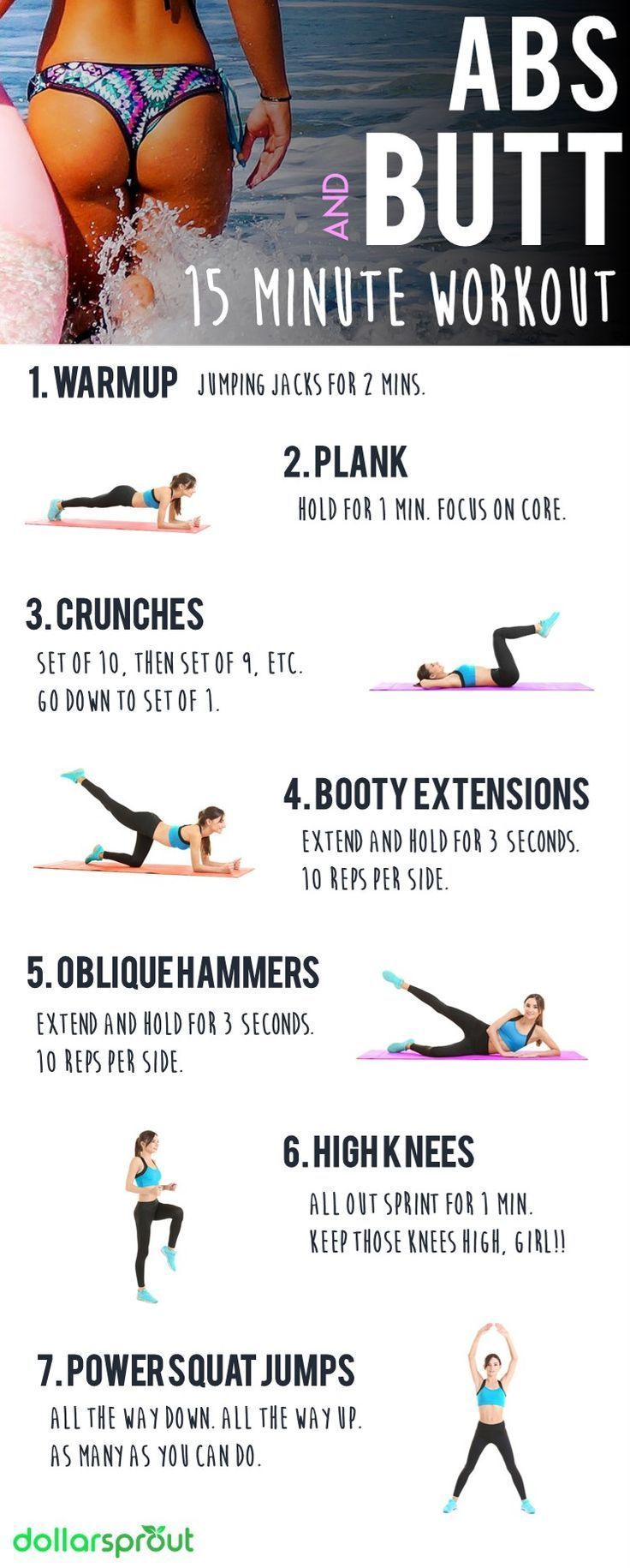 Ab Trainingseinheiten Zu Hause Bauchmuskeltraining Ab Workouts Zu Hause Flachen Bauch B 15 Minute Workout At Home Glute Workout Abs Workout Routines