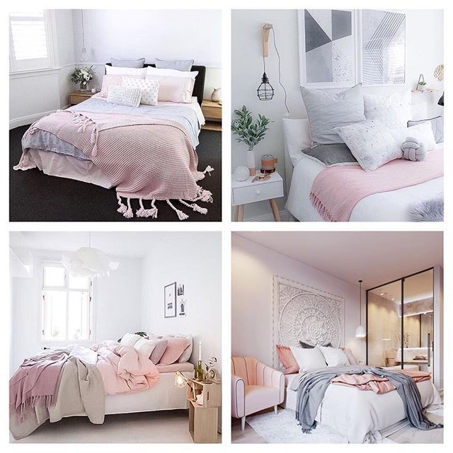 Pretty in pink  some of your favourite bedrooms of the past few months | tap for pic credit | which one is your #1?