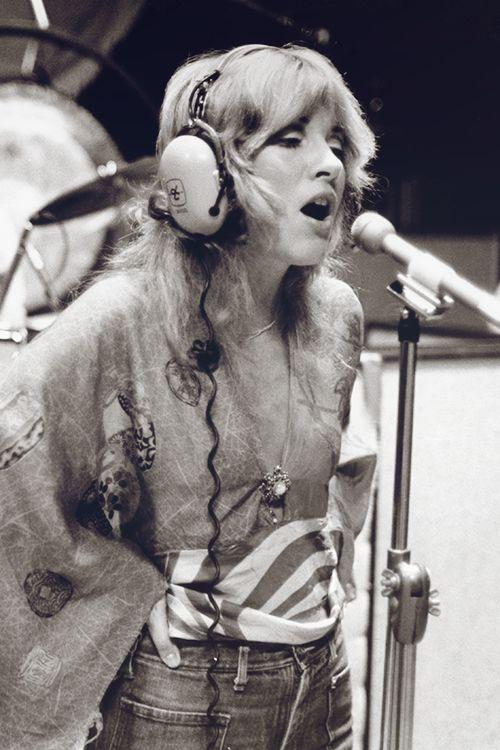 "crystalline-: """"Stevie Nicks, 1975 "" Large copy: {x} """