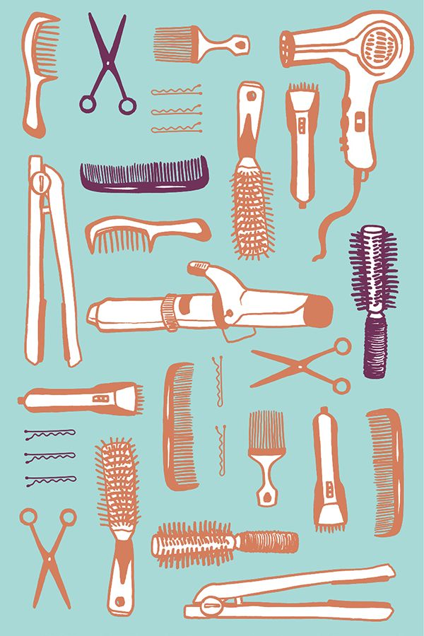 Let's Talk About Hair on Behance