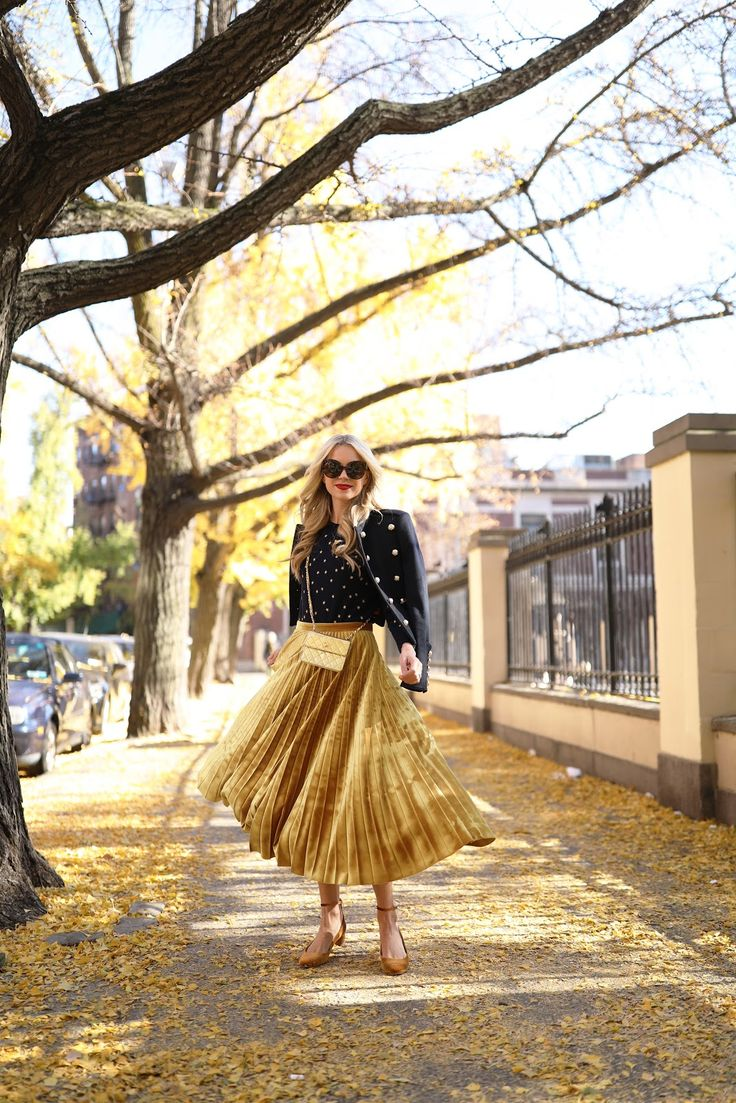Skirt: Topshop (also in pink!). Star Sweater: Jcrew (on sale with WARMSTYLE). Jacket: Burberry (also seen here, more budget friendly option here). Shoes: Jcrew (also love these velvet booties in 4 colors). Sunglasses: Linda Farrow....Read More