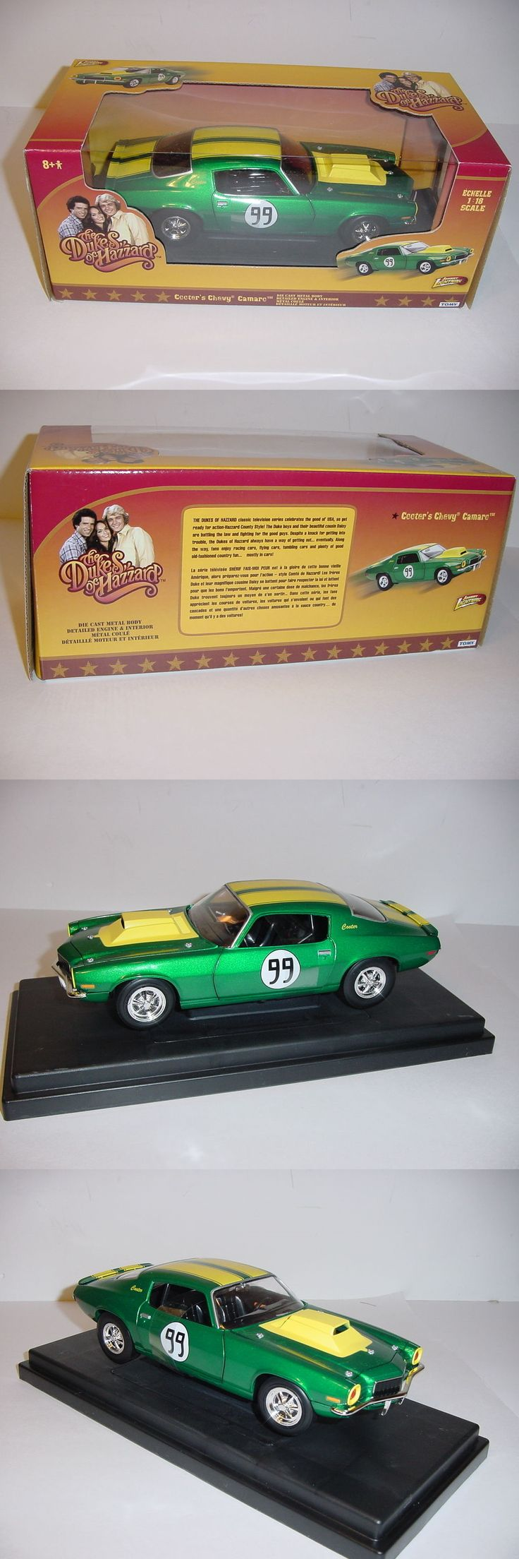 Dukes of Hazzard 20908: 1 18 Dukes Of Hazzard 1970 Chevy Camaro Cooter #99 Nib! High Detail! -> BUY IT NOW ONLY: $42 on eBay!