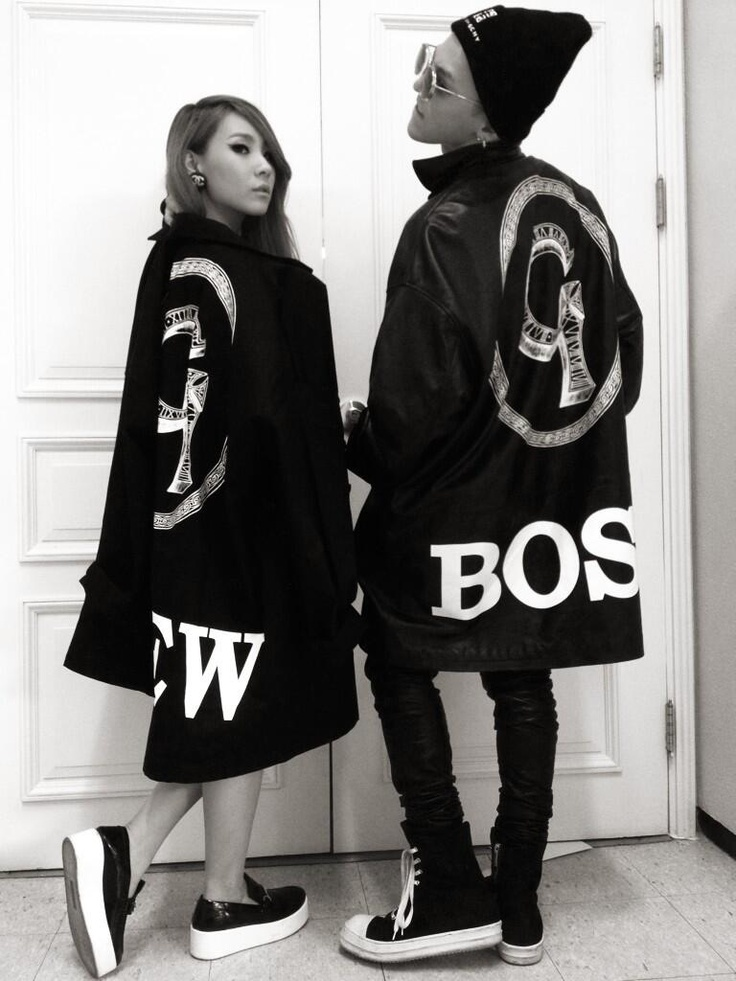 G-Dragon (Big Bang) & CL (2NE1); One of a Kind Concert gear                                                                                                                                                     Más