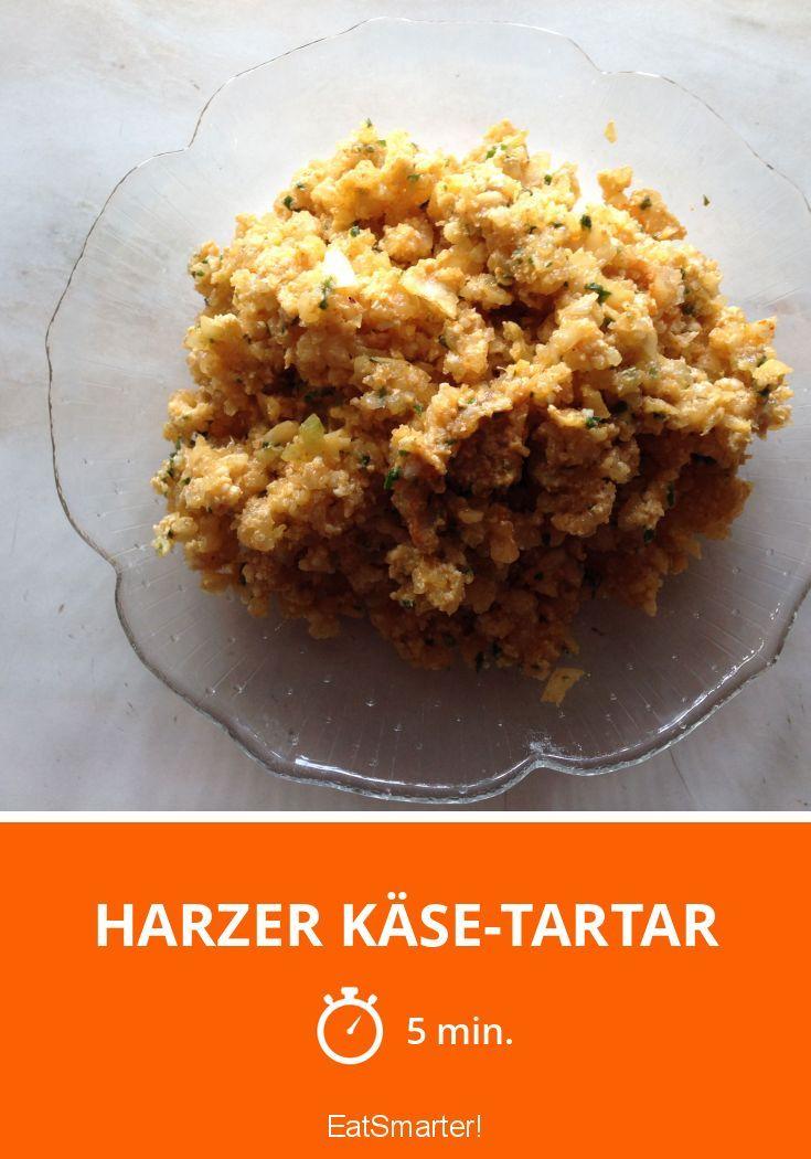 Harzer Käse-Tartar - smarter - Zeit: 5 Min.   eatsmarter.de