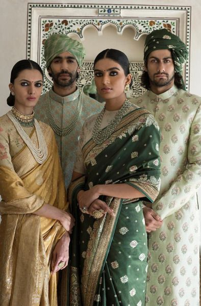 The Udaipur Collection by Sabyasachi Mukherjee | The Benaras Gharana | Spring Couture 2017 #indianfashion