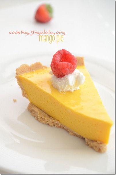 Mango Pie Recipe|Easy dessert ideas|Mango pulp Recipes | Cooking @Vineet Malhotra Malhotra Kansotia