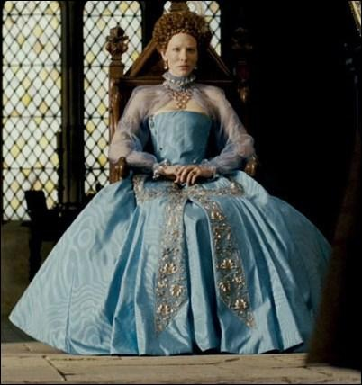 """Costume from the movie """"Elizabeth: The Golden Age"""", realised by Shekhar Kapur in 2007"""