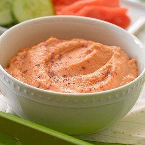 Humus de linte rosie - Cand te saturi de humus de naut, incearca reteta asta cu linte
