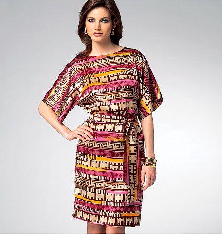 K3956 Misses' Dress