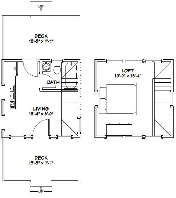 172 best tiny house images on pinterest tiny house plans for 14x14 cabin with loft